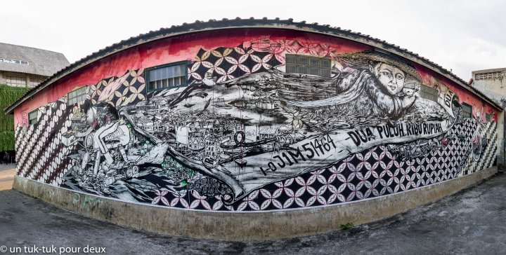 Jogjakarta, une villed'art