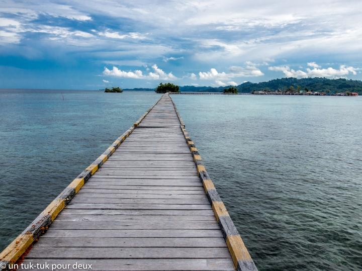 Rencontre avec les Bajaus aux îlesTogian