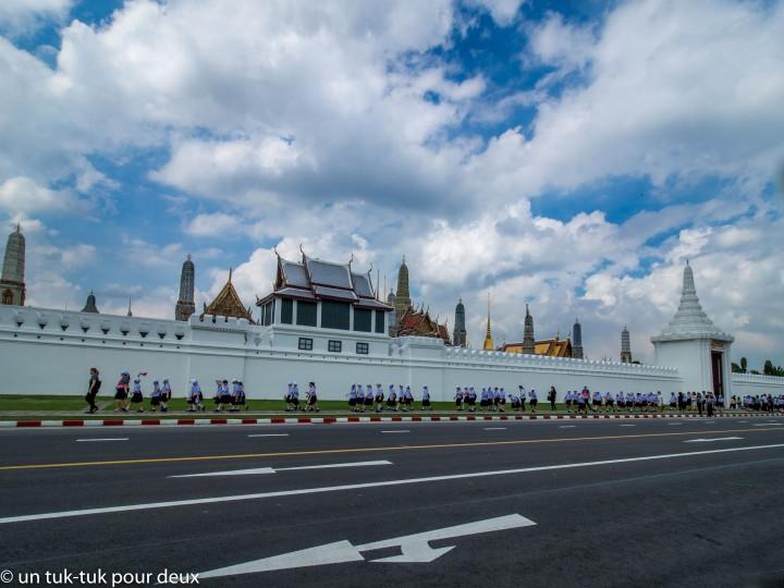 Bangkok, capitale de la Thaïlande, une ville fière comme uncoq!