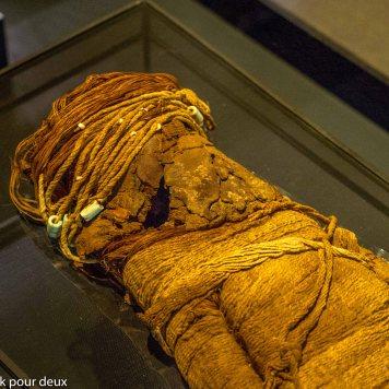 Momie d'enfant - Museo Chileno de Arte Precolombino