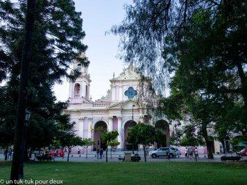 Une des nombreuses églises de la ville de Salta