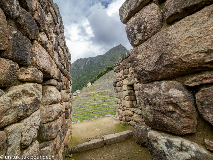 Le Machu Picchu, un bijou serti de groscailloux!