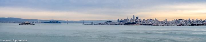 San Francisco, un pont, une prison et « Le Québec libre»