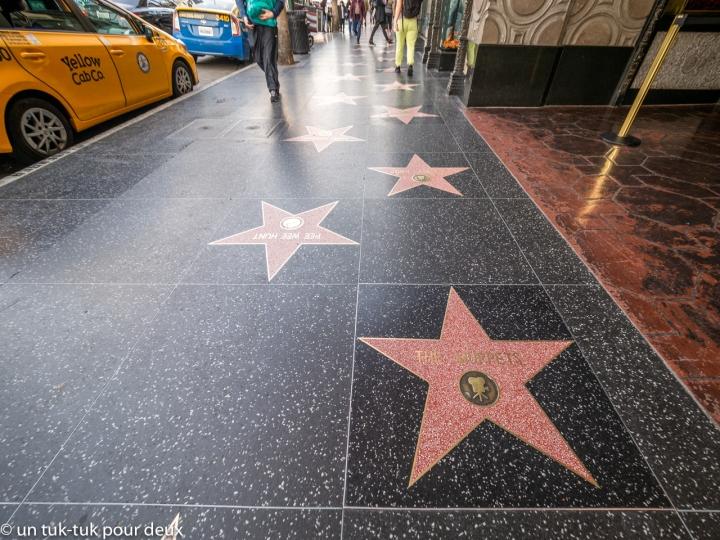 Jalama et L.A., étoiles de mer et decinéma