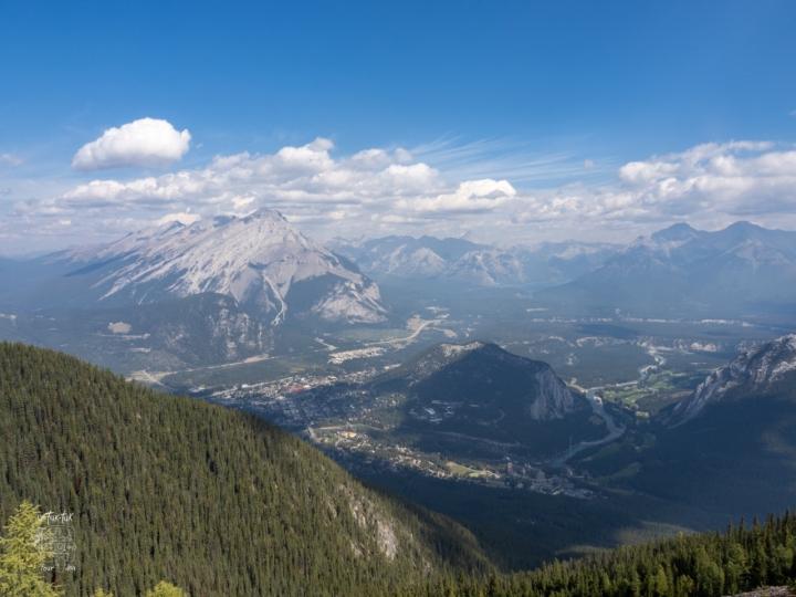 Banff et ses paysages montagneux, toujours à lahauteur!